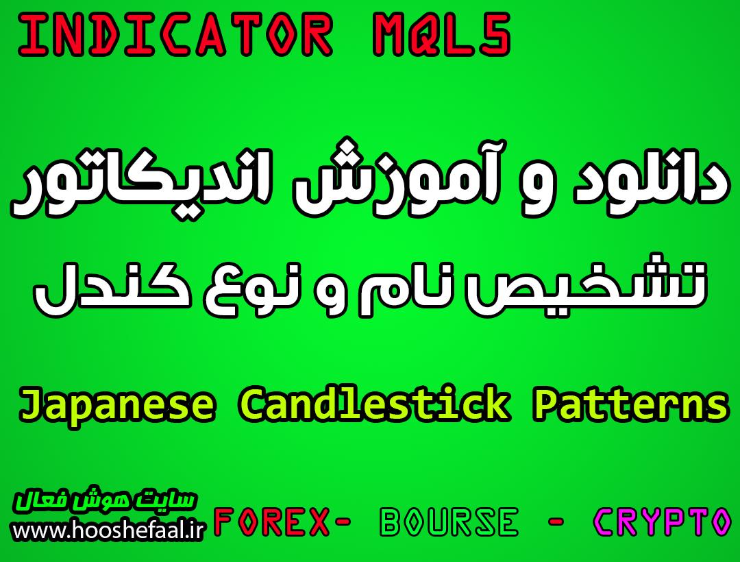 دانلود و آموزش اندیکاتور تشخیص کندل Japanese Candlestick Patterns مخصوص بورس و فارکس